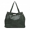 AGNES CLASSIC MEDIUM TOTE IN GREEN