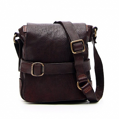 SM SHOULDER SATCHEL IN MORO