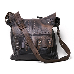 TEXAS BORCHIE MESSENGER BAG