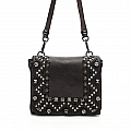 LASER & STUD SMALL CROSSBODY POUCH IN MORO