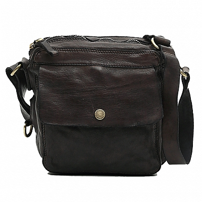 POCKET FRONT SMALL CROSS BODY IN MORO