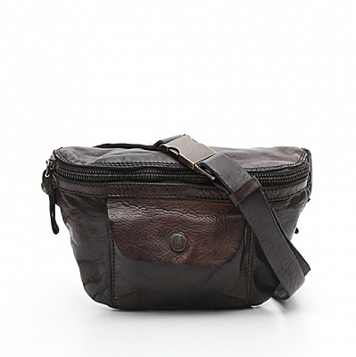 GRIGIO LEATHER MINI FANNY PACK