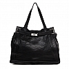 AGNES CLASSIC MEDIUM TOTE IN BLACK