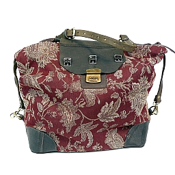 BORSA DE LE VEGA  ROSE DAMASCUS BAG