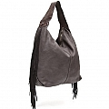LARGE HOBO BAG WITH FRINGE