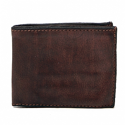 BIFOLD LEATHER WALLET IN MORO
