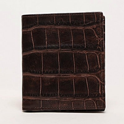 COMPACT ALLIGATOR WALLET