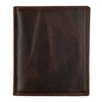 COMPACT BROMPTON LEATHER WALLET