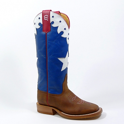 RED WHITE BLUE KIDS BOOTS