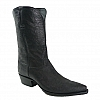 FULL WRAP BLACK RINGTAIL LIZARD BOOTS 11 D