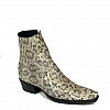 MEN'S FLOWER SNAKE ZORRO G SHORT ZIP BOOTS