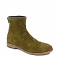 MEN'S KHAKI SUEDE REAR ZIP SHORT BOOT