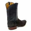 SUEDED BELLY CAIMAN BOOTS