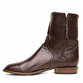 MENS FLORENCE CALFFLO ZIP BOOTS IN CAFE