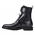 MENS LUCAN SMOOTH CALFSKIN ZIP BOOTS