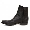 MENS RINGTAIL LIZARD ZORRO ZIP BOOTS IN BLACK