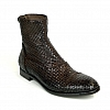 SAN MARINO MEN'S WOVEN REAR ZIP LOW BOOT