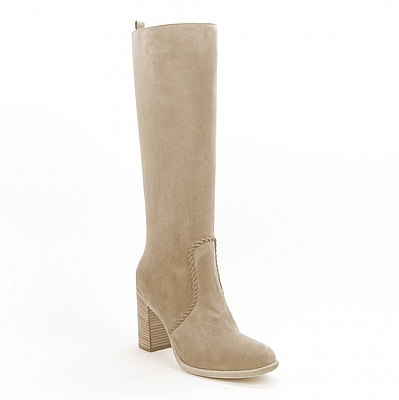 ADELE  VELOUR HIGH 1/2 ZIP BOOT