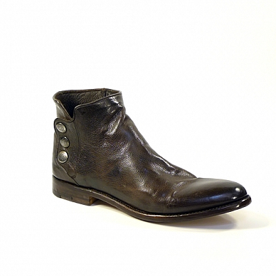PERLA TEAK SMOOTH LEATHER SHOE BOOT