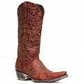 WOMENS NADIA BOOTS IN RED