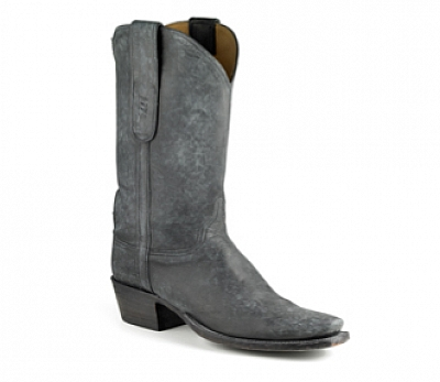 WOMENS ROMIA DISTRESSED CALFSKIN BOOTS