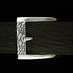 ALLIGATOR PRINT BUCKLE