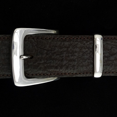 "CLEAN THREE PIECE 1 1/2"" BUCKLE SET"
