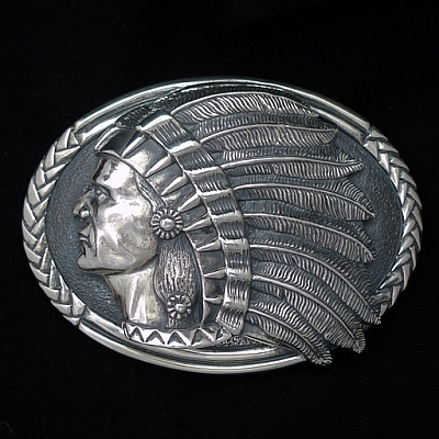 CHIEF ONE PIECE TROPHY BUCKLE