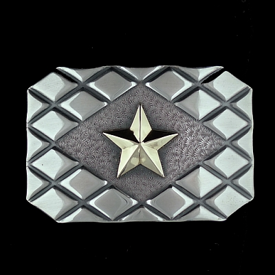 DIAMOND EMBOSSED TROPHY WITH 14K STAR