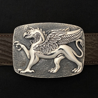GRIFFIN STERLING TROPHY BUCKLE
