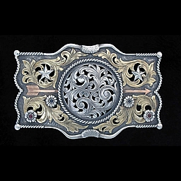 ORM MASON 1801 CHEVRON FILIGREE TROPHY BUCKLE