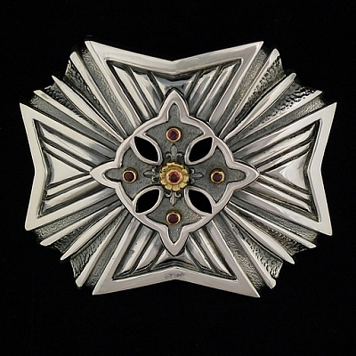 RUBY STAR TROPHY BUCKLE