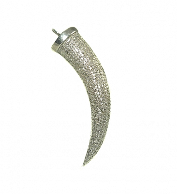 DIAMOND TUSK PENDANT