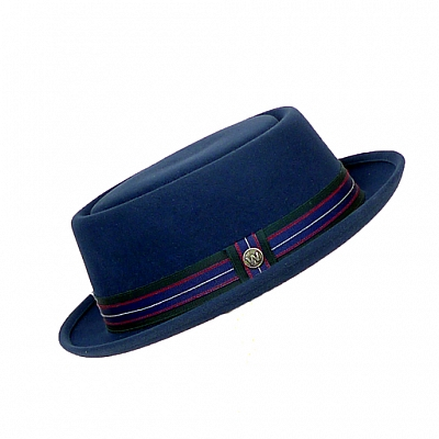 LOS FELIZ PACIFIC BLUE FELT HAT
