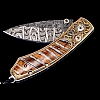 KESTREL DESTINY FOLDING KNIFE MAMMOTH TOOTH