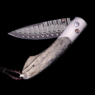 WOOLY MAMMOTH BONE SPEARPOINT KNIFE