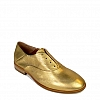 LUCIA  ORO LAMINATE LACELESS SHOE