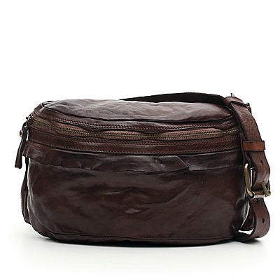 MEDIUM MORO LEATHER WAIST BAG