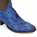 MENS BLUE PIRARUCU WHISKEY BUFF CALF BOOT